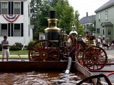 Antique Fire Pump, Yankee Homecoming