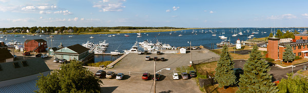 Merrimack River Panorama, Newburyport, Massachusetts