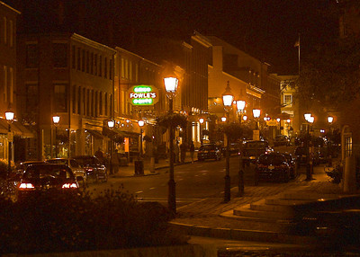 State Street at night