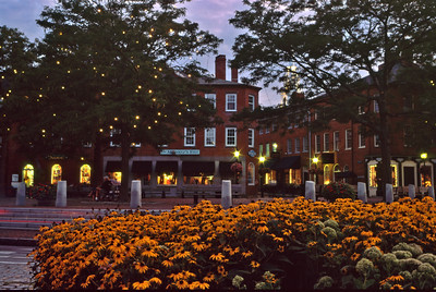 Market Square at dusk