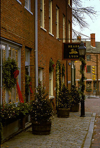Inn Street at Christmas