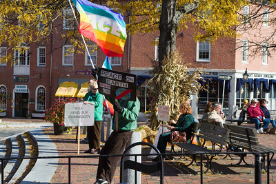 Market Square Peace Protest