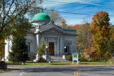 Shedd Porter Memorial Library, Drewsville Village Green, Alstead, New Hampshire