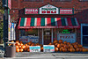 Pumpkins For Sale at an Italian Deli