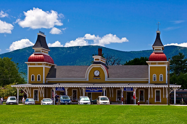 Victorian Train Station, North Conway
