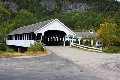 Covered Bridge Over the Ammonoosuc River, Stark, New Hampshire