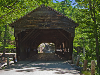 Covered Bridge, White Mountain National Forest, NH