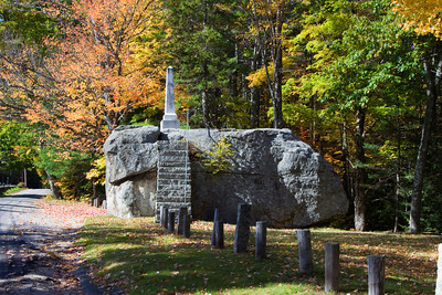 Ordination Rock, Tamworth, New Hampshire