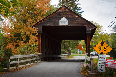 Covered Bridge on an Autumn Afternoon