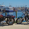 Motorcycles on Fishermans Wharf