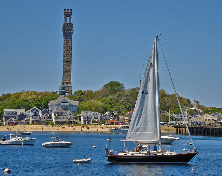 Sailboat & PTown Tower 2