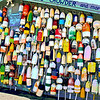 Buoys on Building on Fisherman's Wharf