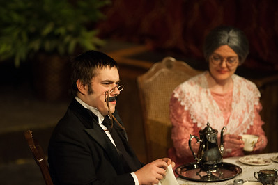 Ben Heath is Teddy Brewster. If he bears some resemblance to Teddy Roosevelt, it's intentional.