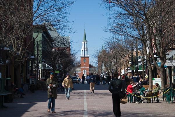 Church Street, Burlington VT