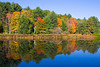 Quechee Lake in Autumn, Vermont