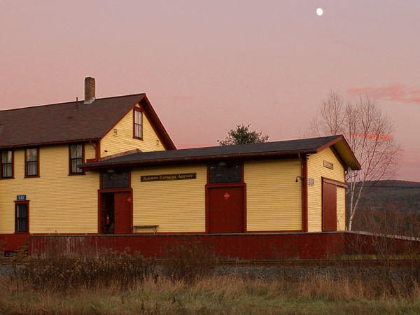 Restored Fairlee Train Station, Fairlee, Vermont