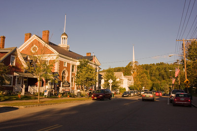 Downtown Stowe Vermont