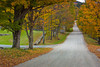Vermont Country Road in Autumn