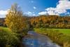 Vermont Brook in Autumn