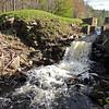 reservoir draining in Hardwick