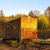 rusty boxcar