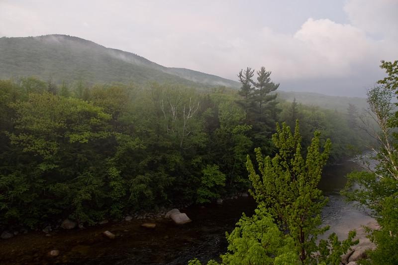 Mist on Loon mountain