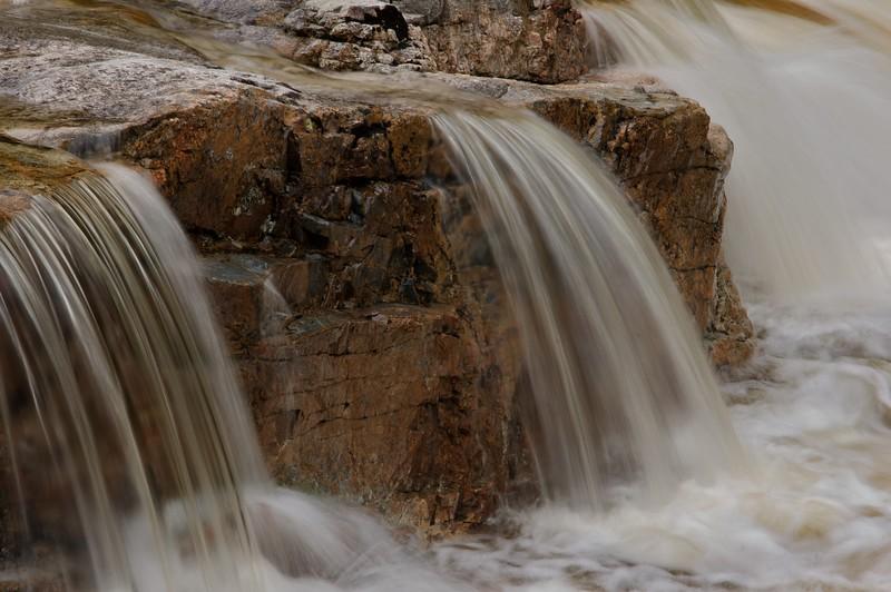 Small cascade near Rocky Gorge