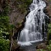 Crystal Cascade falls in summer