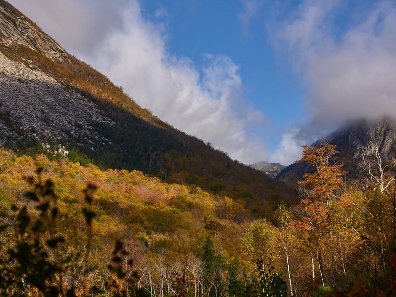 Franconia Notch, view North