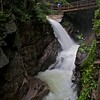 Sabbaday falls after heavy rain