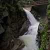 Sabbaday falls after heavy rain