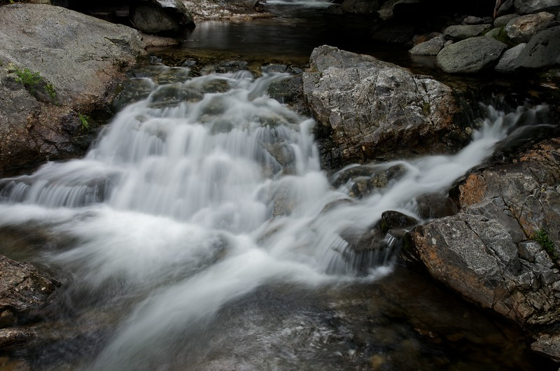 Small cascade on the Cutler river