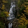 Crystal Cascade falls in fall