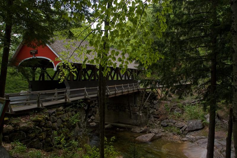 Bridge over the Pemigawaset