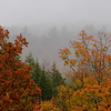 Mist on the Suger Hill overlook