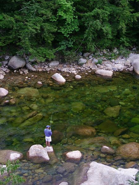Fishing in the Pemigawaset