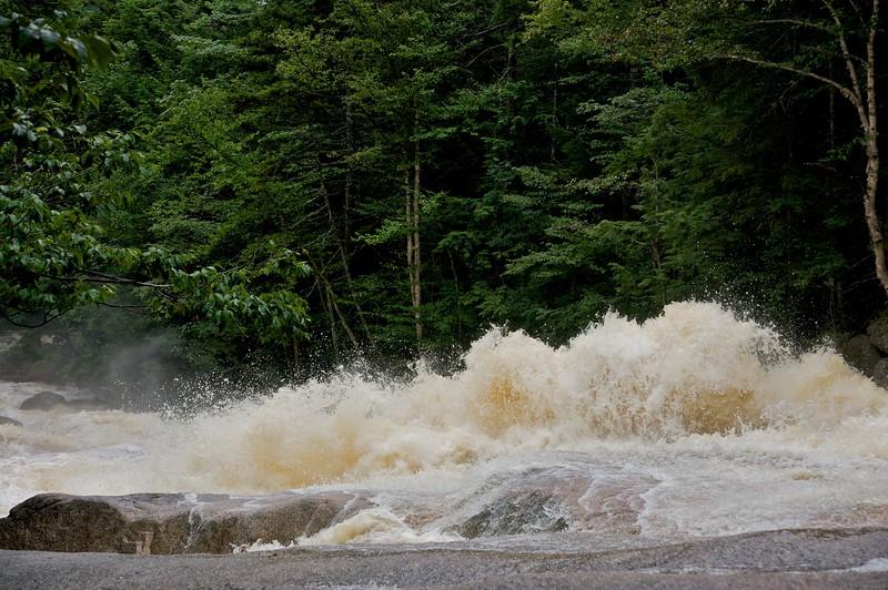 Cascade brook after heavy rain