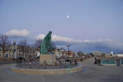The Fisherman Statue, Gloucester, Massachusetts