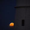 Super Moon 2012 at Portland Head Lighthouse