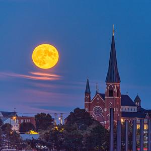 Portland Corn Moon