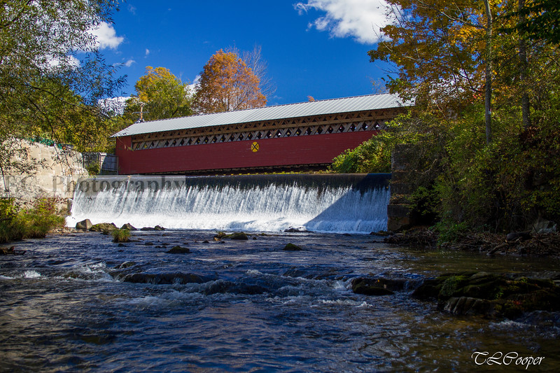 Covered Bridge and Dam II