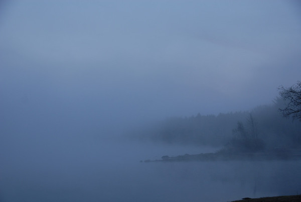 foggy water view - 2