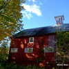 Red barn at foliage time