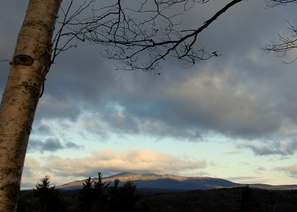 Sunrise over Mt. Monadnock - 1