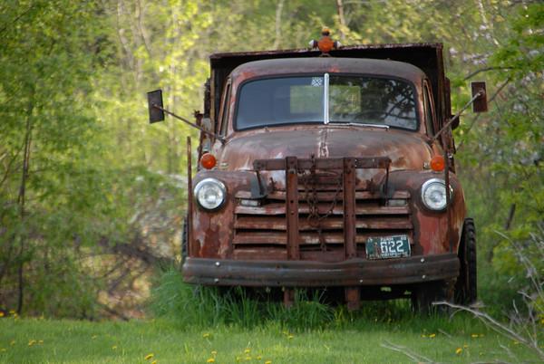 Old Truck found in Lyndeborough, NH1