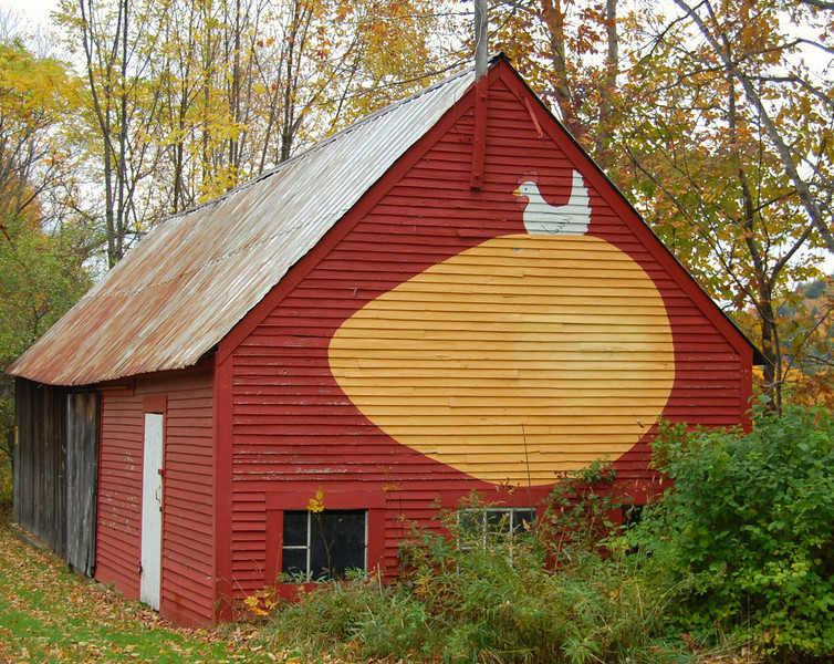 Barn in Springfield, VT