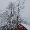 Stormy Red Barn - Amherst, NH