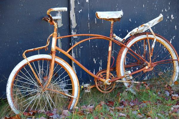 Trusty Rusty Bike Dublin/Marlborough town line