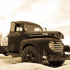 Ford Truck in winter time