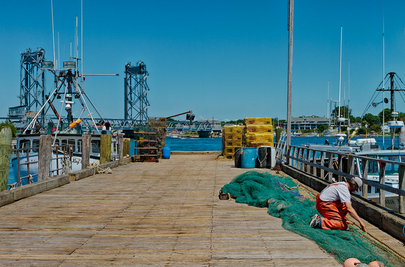 Portsmouth, New Hampshire<br /> Commercial Fishing Pier